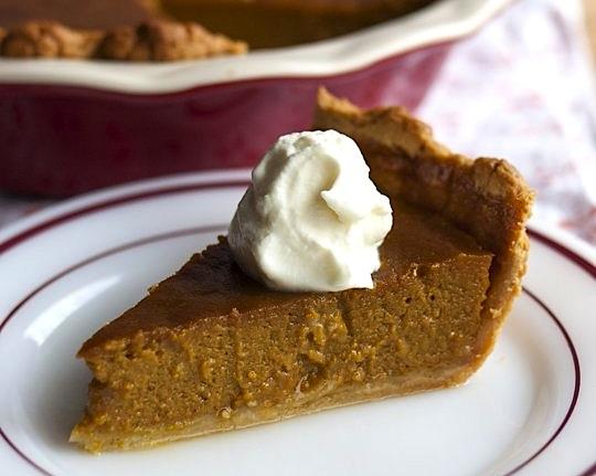 classical pumpkin pie _thekitchn
